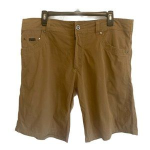 Kuhl Radikl Men's Khaki Tan Shorts Hiking Camp 38